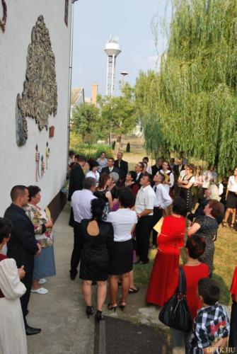 Hetvenhárom székely, Hargita, Kovászna és Maros megyéből jöttek Detkre, hogy állampolgársági esküt tegyenek.